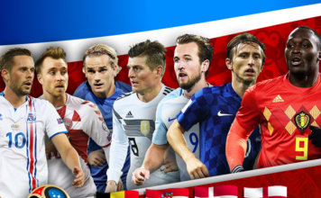 World Cup 2018 Europe
