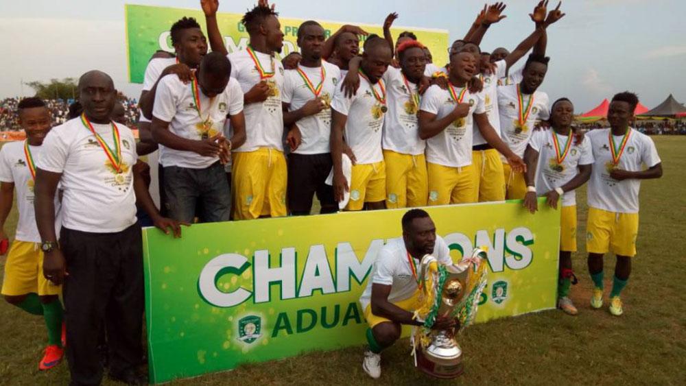 Aduana stars win ghana premier league