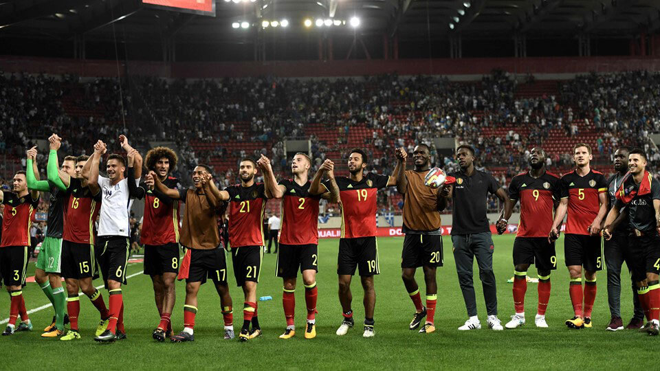 Belgium qualify for the 2018 World Cup