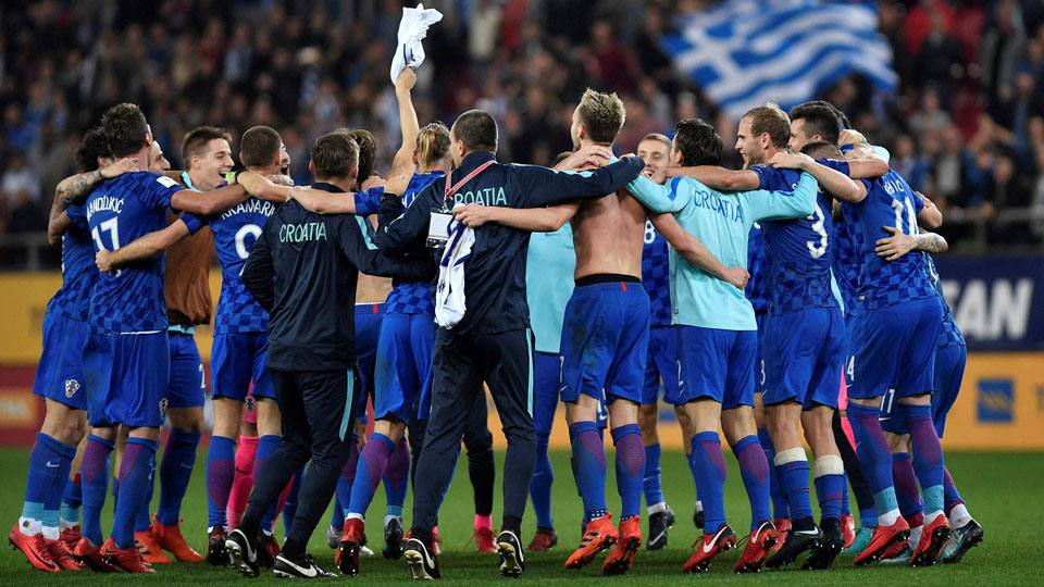 Croatia qualify for the 2018 World Cup