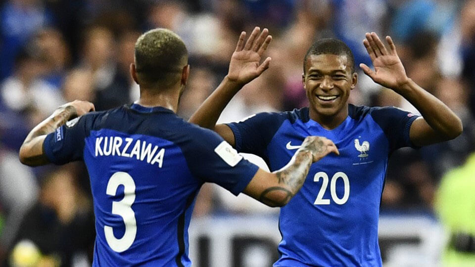 France qualify for the 2018 world cup