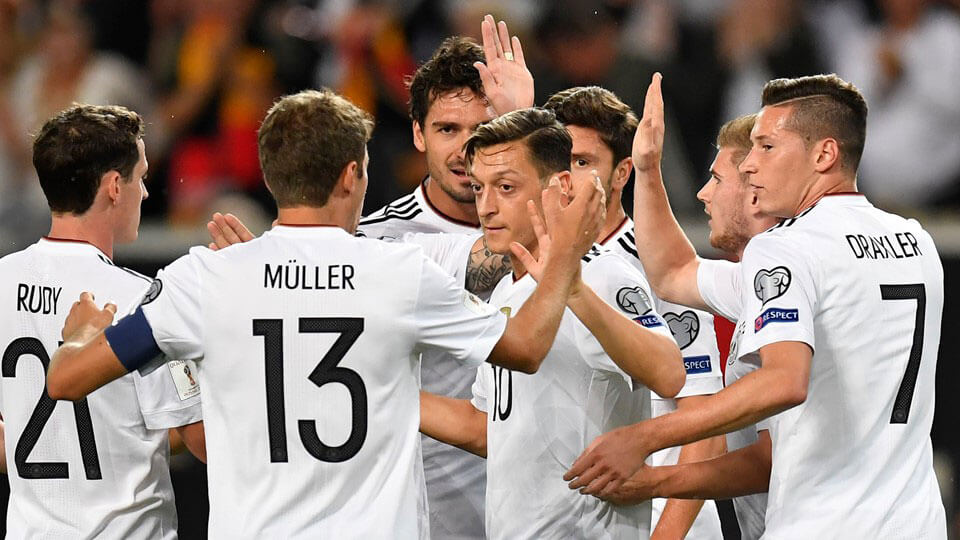 Germany qualify for the 2018 fifa world cup