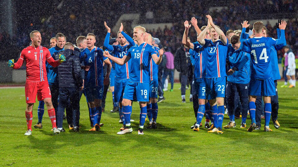 Iceland qualify for the Fifa 2018 World Cup