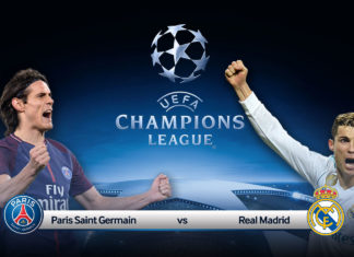 PSG VS REal Madrid