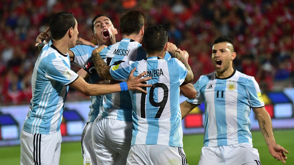 Argentina qualify for the World Cup
