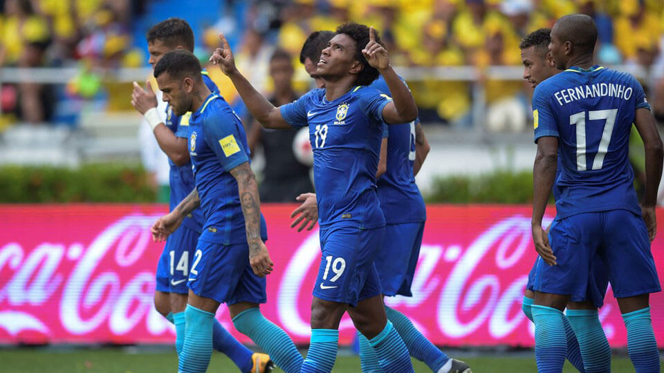 Brazil qualify for the 2018 World Cup