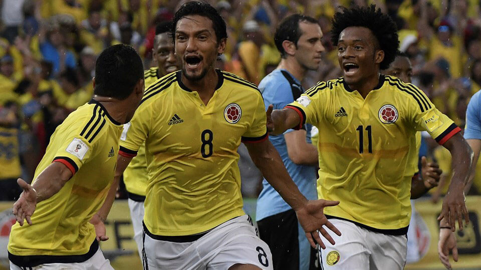 Columbia qualify for the 2018 World Cup