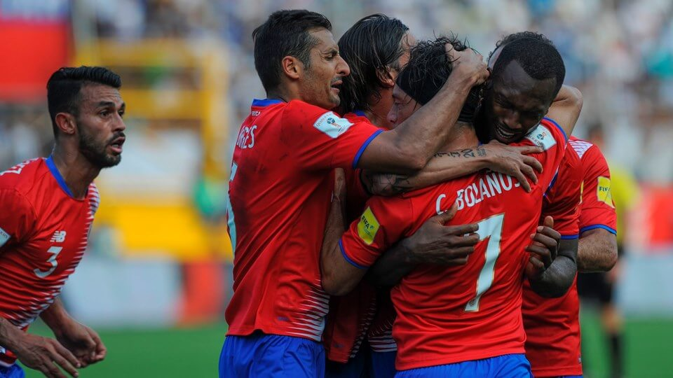 Costa Rica qualify for the FIFA 2018 WORLD CUP