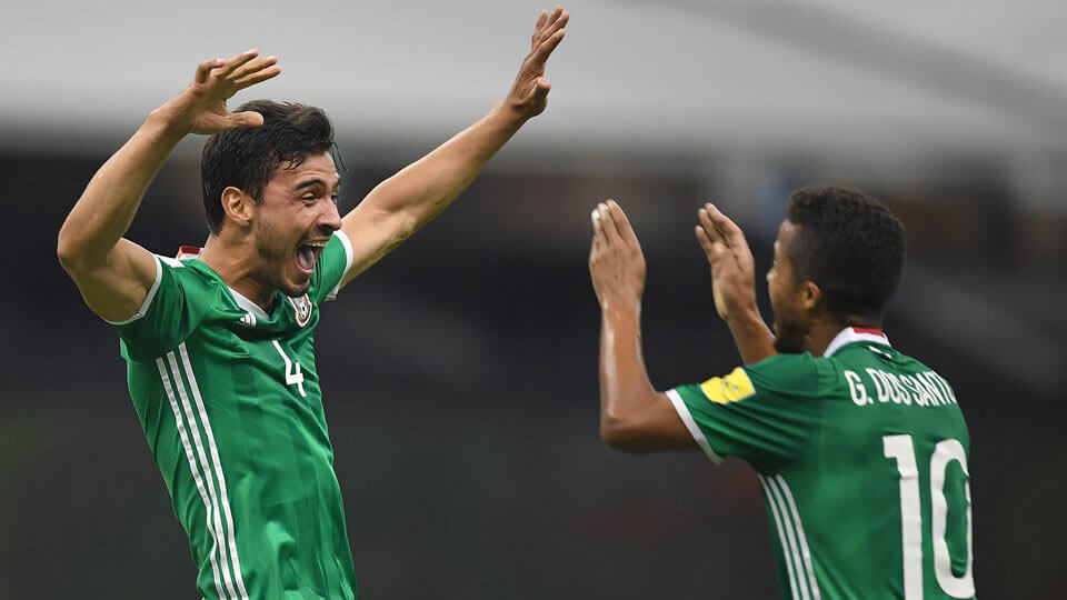 Mexico qualify for the World Cup