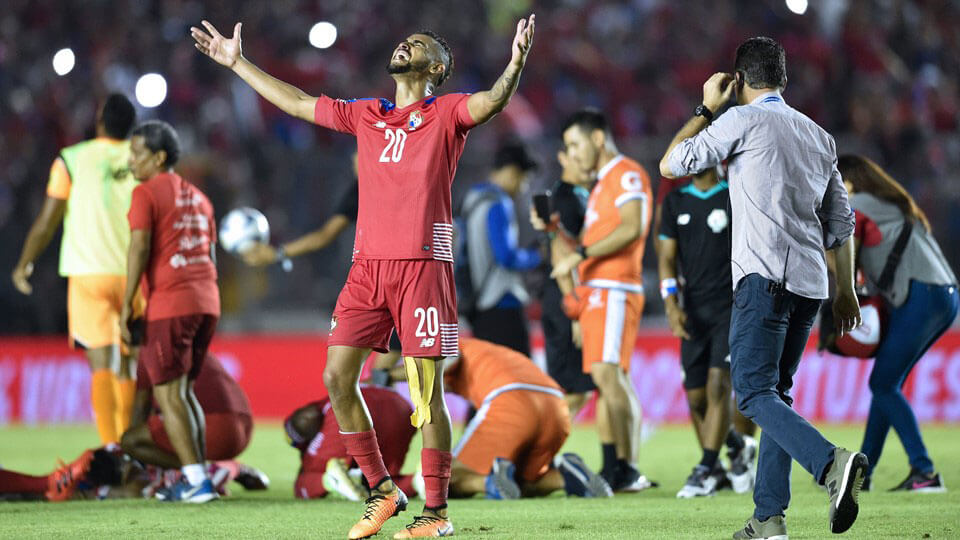 Panama qualify for the 2018 FIFA World Cup
