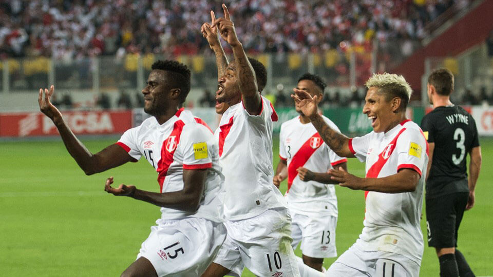 Peru qualify for the 2018 World Cup