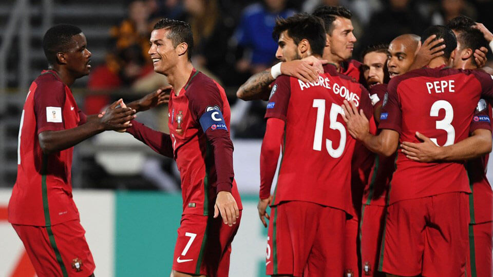 Portugal qualify for the 2018 World Cup