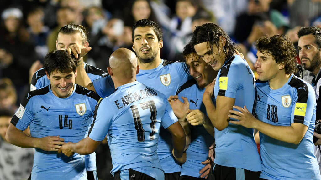 Uruguay qualify for the 2018 World Cup