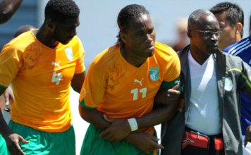 11 Days Drogba broken arm 2010 world cup