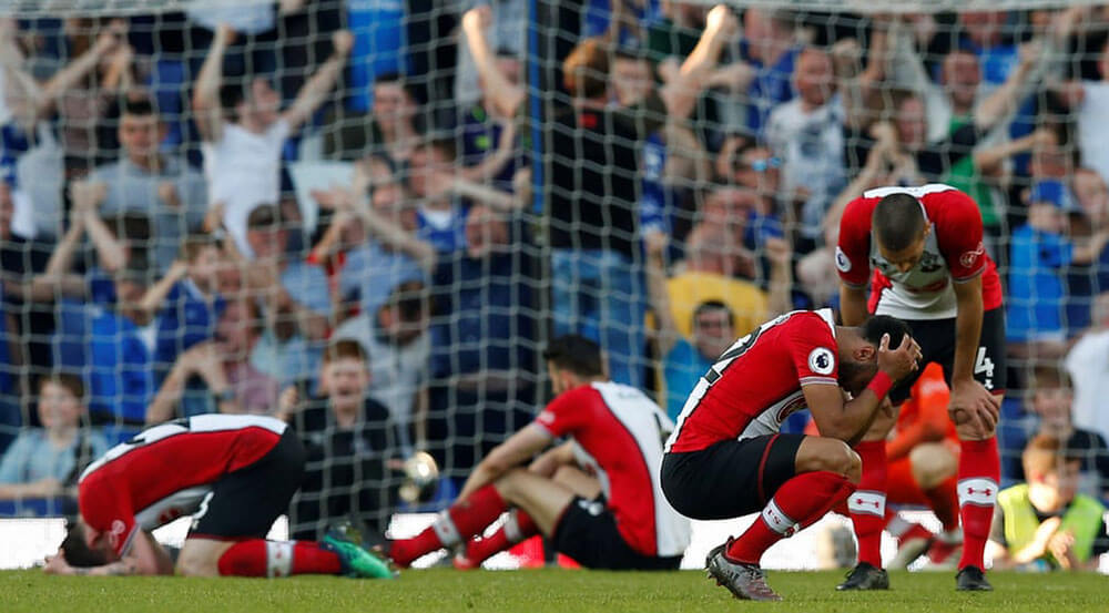Southampton were devastated by their 1-1 draw against Everton this past weekend