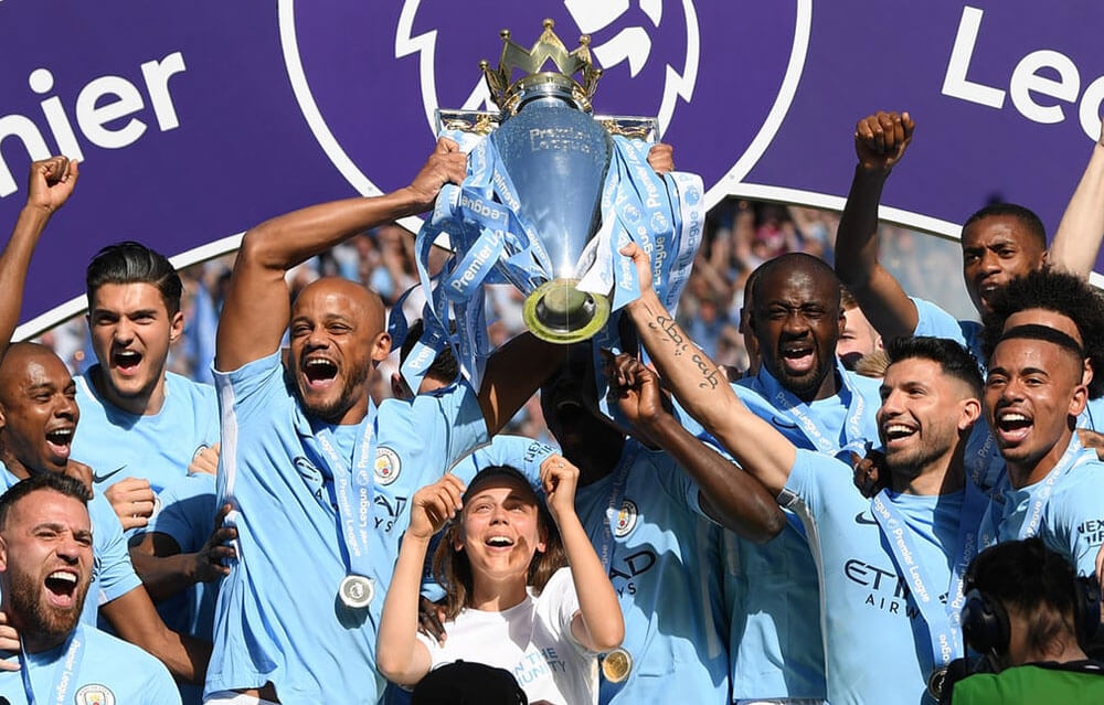 Man City Crowned Champions