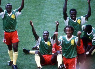 Cameroon beat Argentina