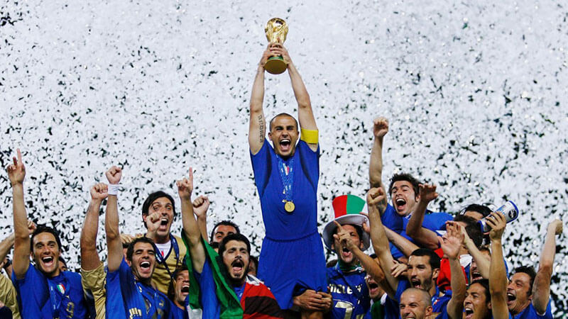 Italy win 2006 Word Cup