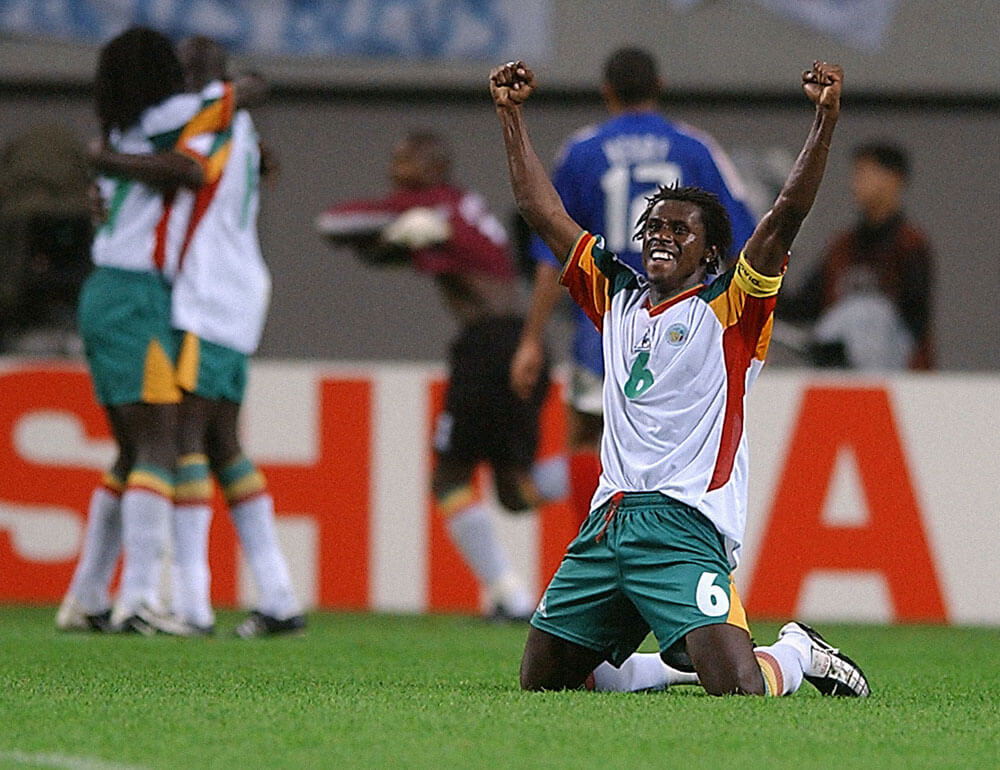Image result for Senegal France 2002