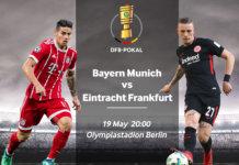 DFB Pokal Bayern VS Eintracht