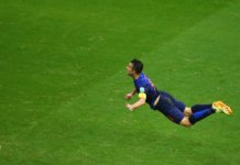 3 Days Van Persie flying dutchman