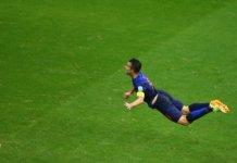 3 Days Van Persie flying dutchman