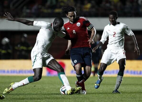 Senegal VS Colombia May 2014