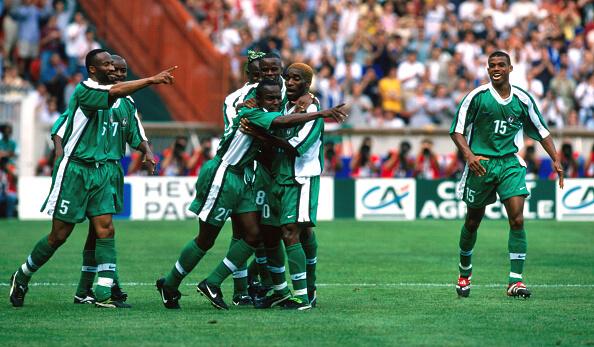 Nigeria v Bulgaria1998 Fifa World Cup