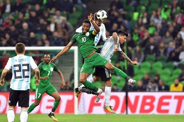 Nigeria VS Argentina friendly in 2017
