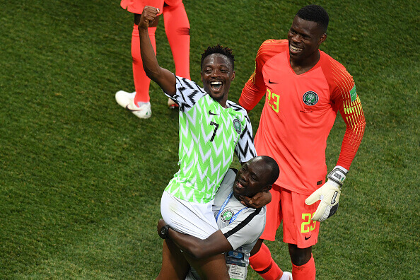 Ahmed Musa saved the day for Nigeria against Iceland