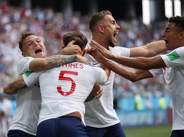 England thrashed Panama