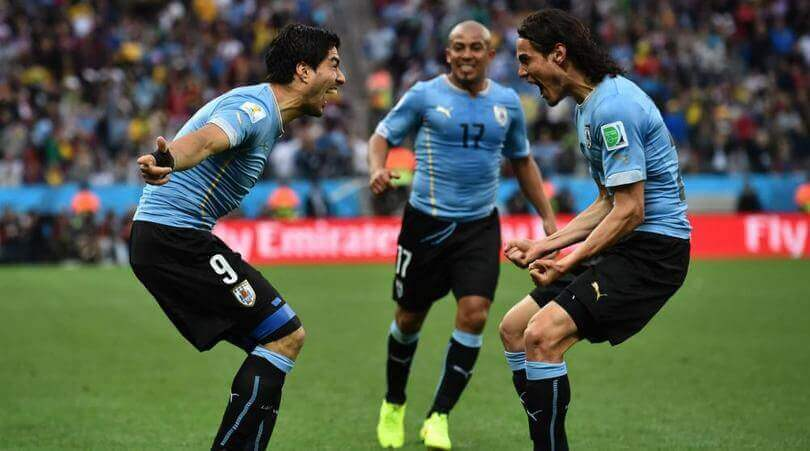 Suarez and Cavani are a formidable duo