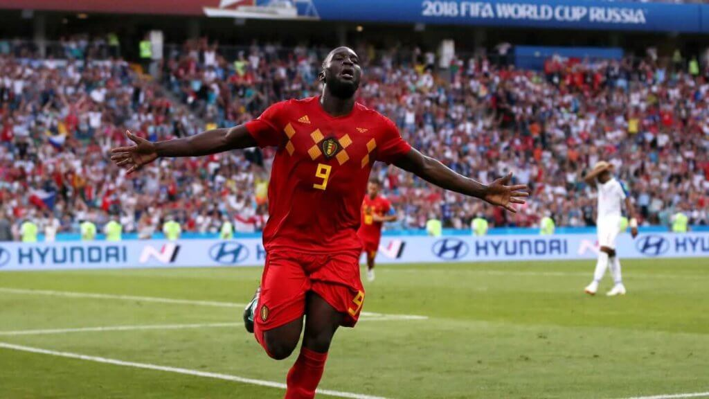 Romelu Lukaku scored two goals against Panama