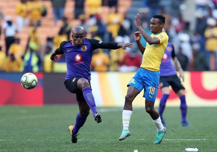 Football - 2018 Shell Helix Cup - Kaizer Chiefs v Mamelodi Sundowns - FNB Stadium