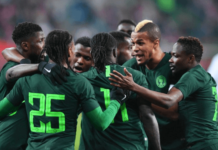 nigeria super eagles