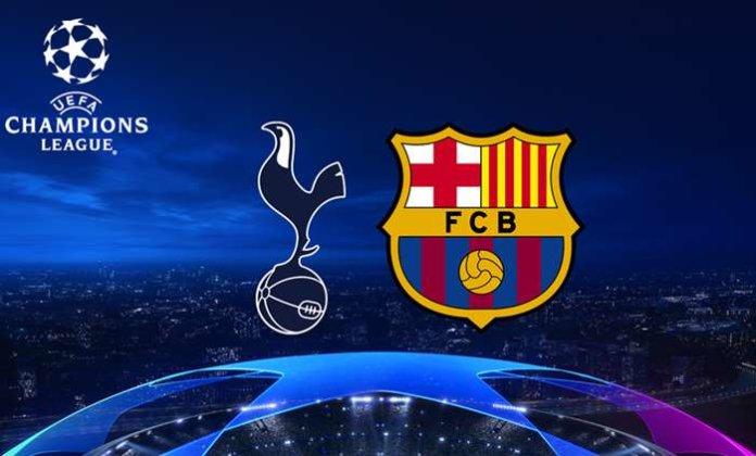 spurs vs barcelona
