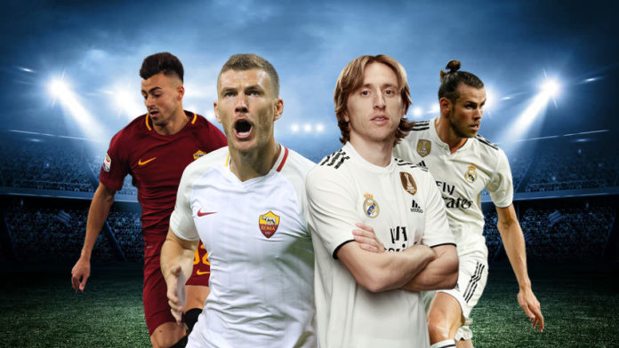 Roma-VS-Real-Madrid