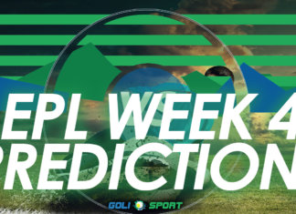 EPL week 4 predictions