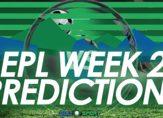 EPL week 2 predictions