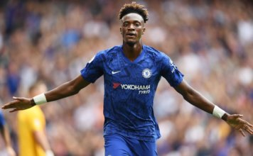 Tammy Abraham in action for Chelsea