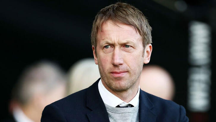 Graham Potter - Brighton manager